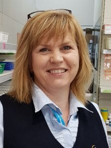 Angela Whittaker UFS Mount Gambier Dispensary technician
