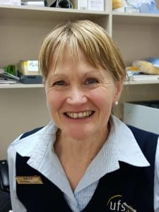 Sally Lord - UFS staff