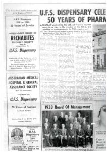 UFS Mt Gambier 50th anniversary newspaper