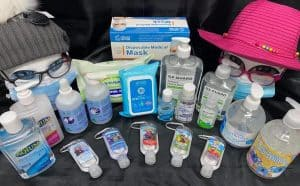 Sanitisers and Face Masks UFS Special August 2020